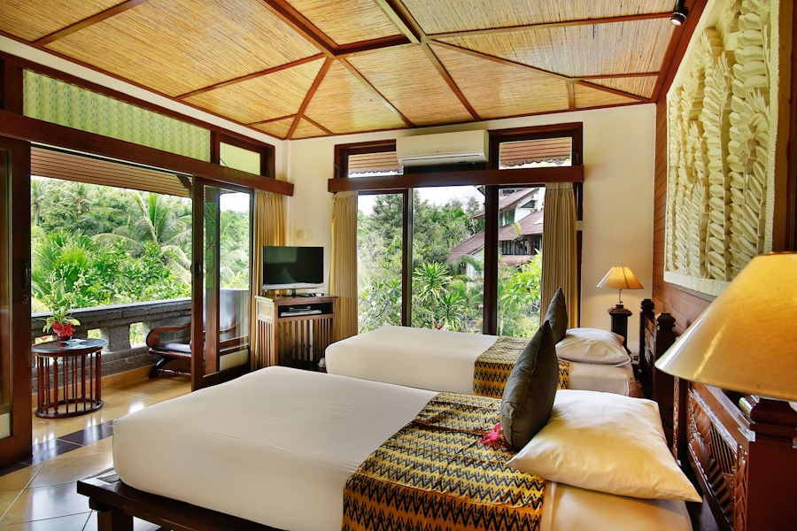 Emerald superior room bali spirit hotel and spa - Cozy outdoor living spaces connecting mother nature ...